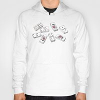 puerto rico Hoodies featuring Dominos de Puerto Rico by A Different Place and Time