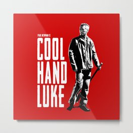 Paul Newman - Cool Hand Luke Metal Print
