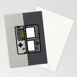 Old & New Nintendo Handheld Consoles Stationery Cards