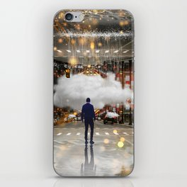 Raining in the Streets iPhone Skin