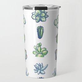 One Dozen Succulents Travel Mug
