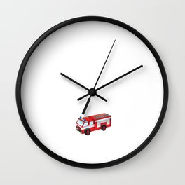 Firefighters the Hotter It Is the Quicker We Come T-Shirt Wall Clock
