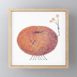 Poofy Streusel Framed Mini Art Print
