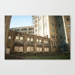 Abandoned Hospital Canvas Print