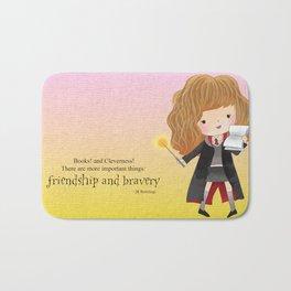 Friendship and bravery Bath Mat