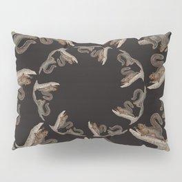 Squirrel squares the circle Pillow Sham