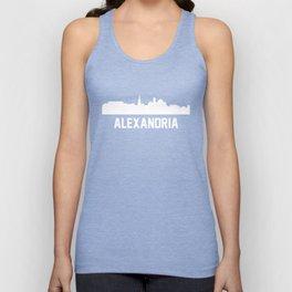 Alexandria Virginia Skyline Cityscape Unisex Tank Top