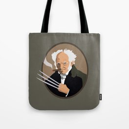 Hegel is a pussy Tote Bag