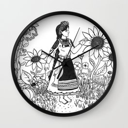 The Warmth of South Wall Clock