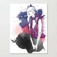stevie nicks Canvas Prints featuring Stevie Nicks by 2b2dornot2b