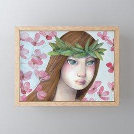 Laura Framed Mini Art Print
