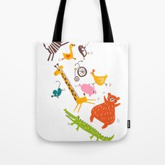 trampolinists Tote Bag