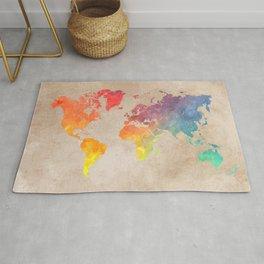 World Map Maps #map #maps #world Rug