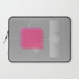 Pink Structural Disorder Laptop Sleeve