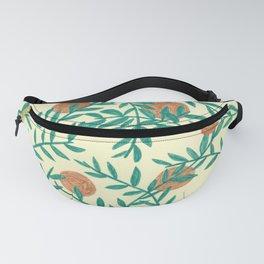Vegetal pattern Fanny Pack