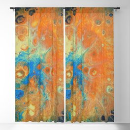 Jellyfish Abstract Blackout Curtain