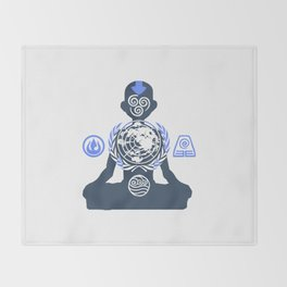 United Nations of the Earth Kingdom Throw Blanket