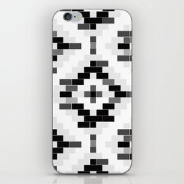 B&W venetian bricks iPhone Skin