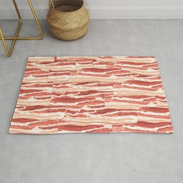 Bacon pattern Rug