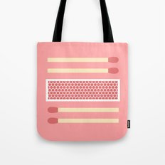 #75 Matches Tote Bag