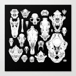 Skull Grid Canvas Print