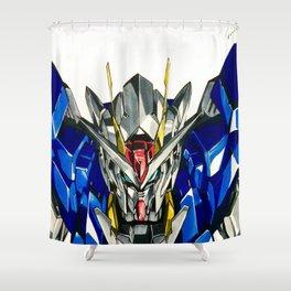 Gundam 00 Shower Curtain