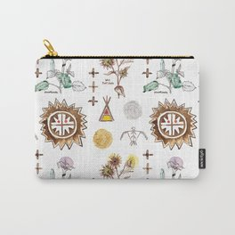 Grandmother Moon, Grandfather Sunflower Carry-All Pouch
