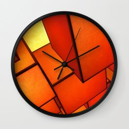 vegas abstract Wall Clock