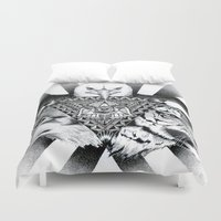 power Duvet Covers featuring Power by wreckthisjessy