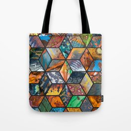 Junkyard Diamonds Tote Bag