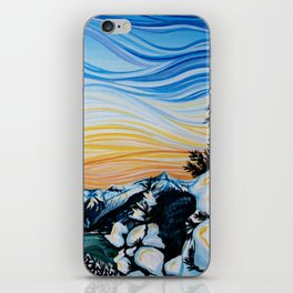 Whistler Snow iPhone Skin