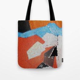 Cubist Mosaic Tote Bag