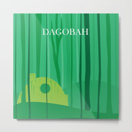 Dagobah Art Metal Print