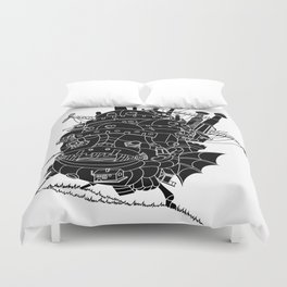 Howl's moving castle. Duvet Cover