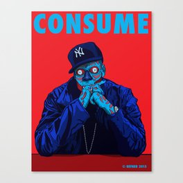 CONSUME - JAY Z Canvas Print