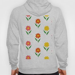 Sun Flower Pattern Hoody