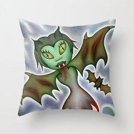 Tilda: Blood Elemental Throw Pillow