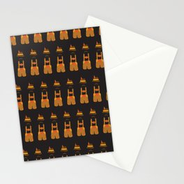 Oktoberfest guy. Lederhosen  Stationery Cards
