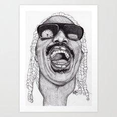Stevie  Art Print