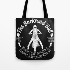 The Backroad Ball (white version) Tote Bag