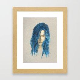 """""""Blue"""" Framed Art Print"""