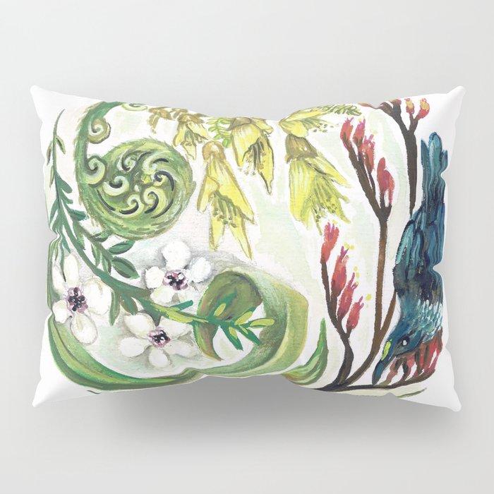 Kiwiana Wreath Pillow Sham