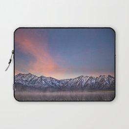 """""""Pretty in Pink"""" -- an Eastern Sierra sunrise Laptop Sleeve"""