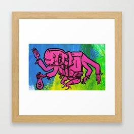dopesick lovefiend Framed Art Print