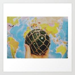 a whole new world Art Print