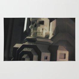 Necronaut low-polygon 3D artwork Rug