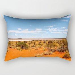 Outback Saltflats Rectangular Pillow
