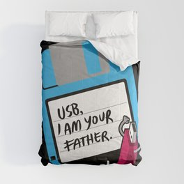 USB, I am Your Father   Retro Floppy Disk Comforters