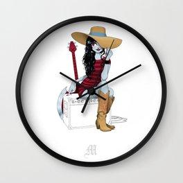Pardoart's Alphabet - M Wall Clock