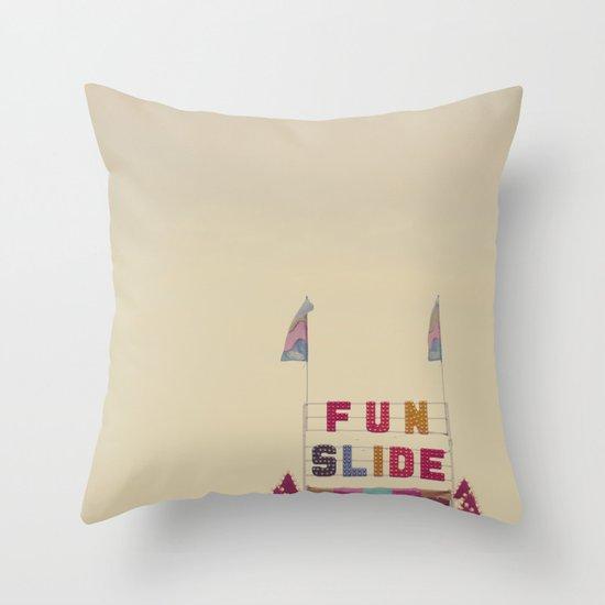 Fun Slide Throw Pillow